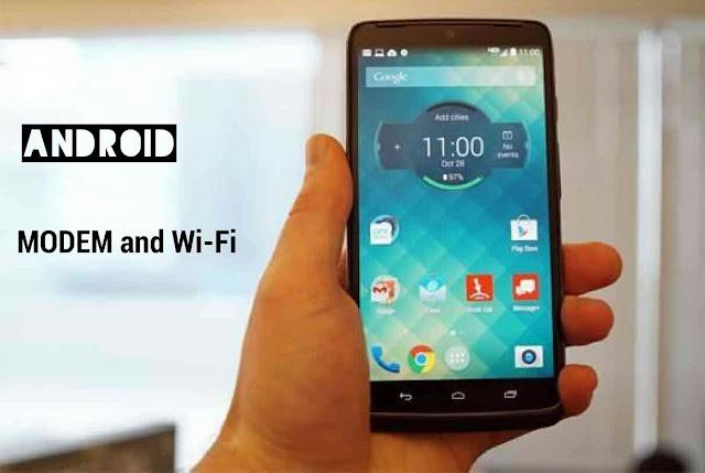 Cara Paling Mudah Membuat Smartphone Menjadi Modem atau Wifi Tanpa Alat Bantu Apapun