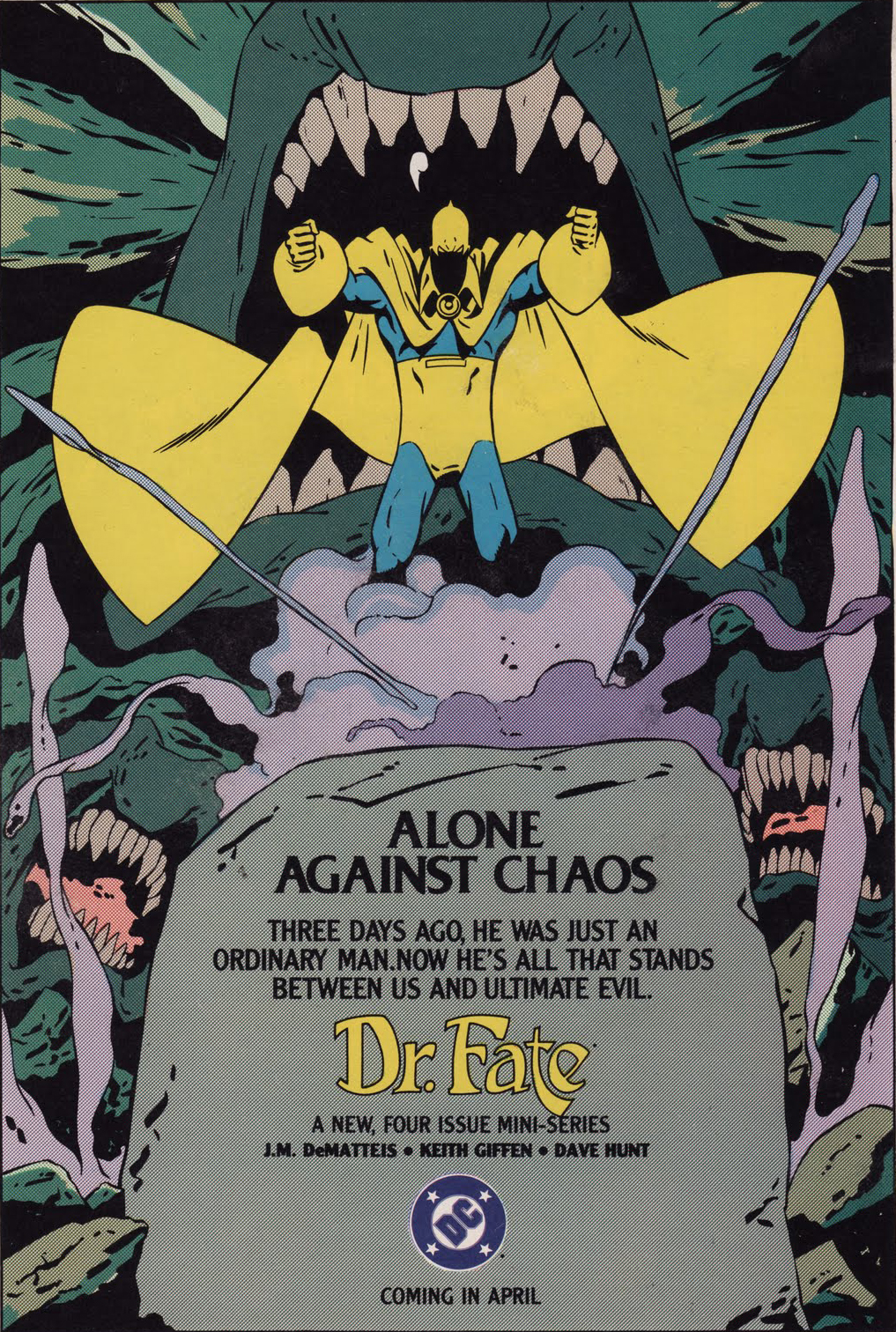 It's A Dan's World: DC'S 80'S HOUSE: Dr Fate, Suicide Squad