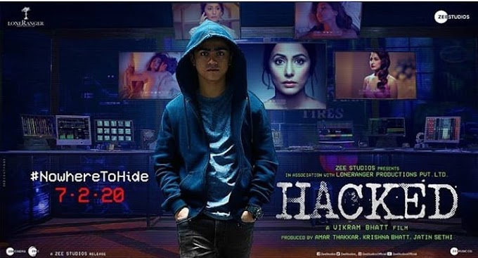 Hacked Full Hindi Movie Review, Cast,trailer,DVDRip 720p,2020 by tamilrockers