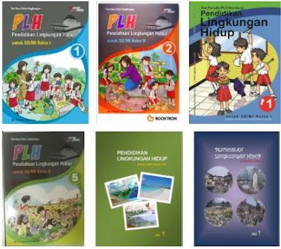 Buku Mulok PLH (Pendidikan Lingkungan Hidup) SD (Sekolah Dasar) Kelas 1, 2, 3, 4, 5, 6 Library Pendidikan