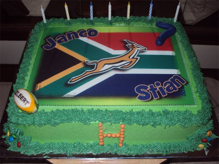 Delana S Cakes Sa Rugby Cake And Cupcakes