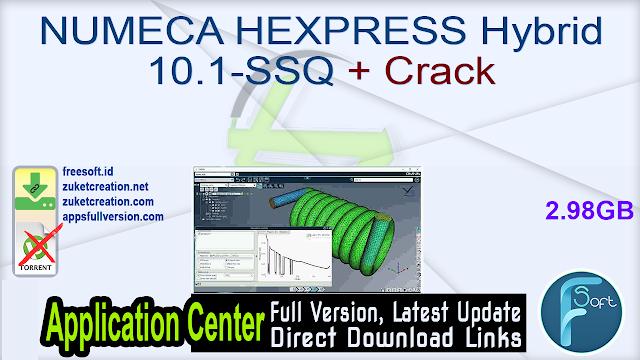 NUMECA HEXPRESS Hybrid 10.1-SSQ + Crack