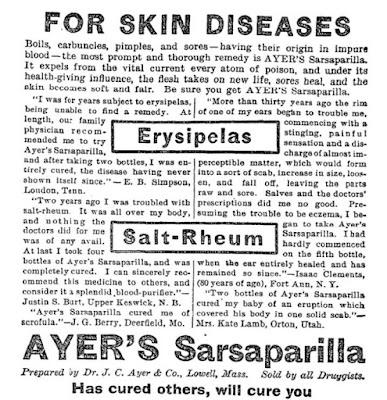 Ayer's Sarsaparilla