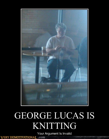 george lucas knitting