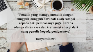 quotes alasan menulis di Blog