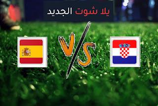نتيجة مباراة اسبانيا وكرواتيا اليوم الاثنين 28-06-2021 يورو 2020