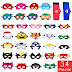 $8.26 (Reg. $13.76) + Free Ship 34-Pcs Superhero Masks Set!