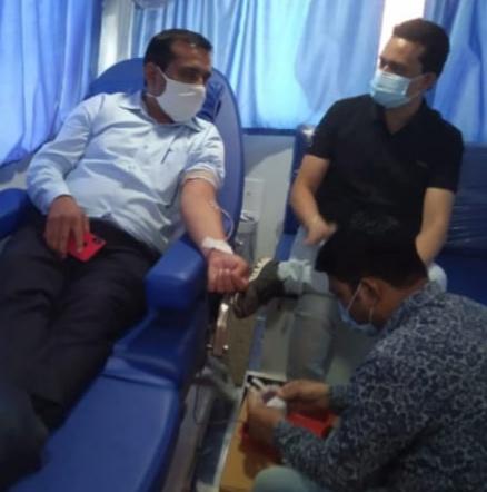 Nateran SDM DONATE BLOOD : सेवा भारती द्वारा नटेरन में किया रक्तदान शिविर का आयोजन एसडीएम प्रवीण प्रजापति सहित 17 ने किया रक्तदान !!