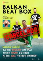 Balkan Beat Box cancela sus conciertos en España
