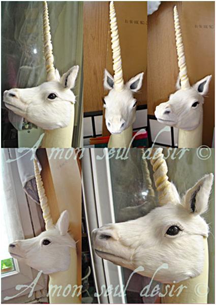 Comment fabriquer une Licorne Tuto / Make your own Unicorn / DIY / How to make Unicorn / Unicorn Tutorial Mythical Creature
