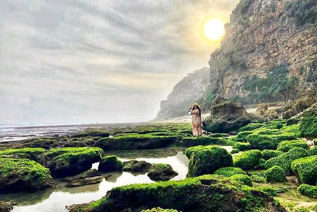 Pantai Seruni Gunung Kidul, Tempat menikmati Kesunyian