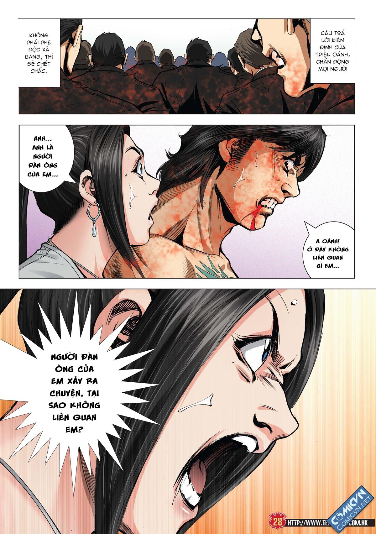 Người Trong Giang Hồ chapter 1997: triệu oánh vs đinh dao trang 26