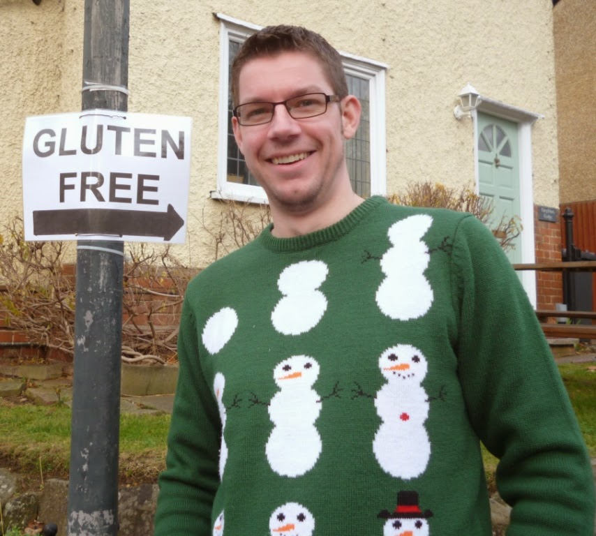 Richard Gottfried is Gluten Free