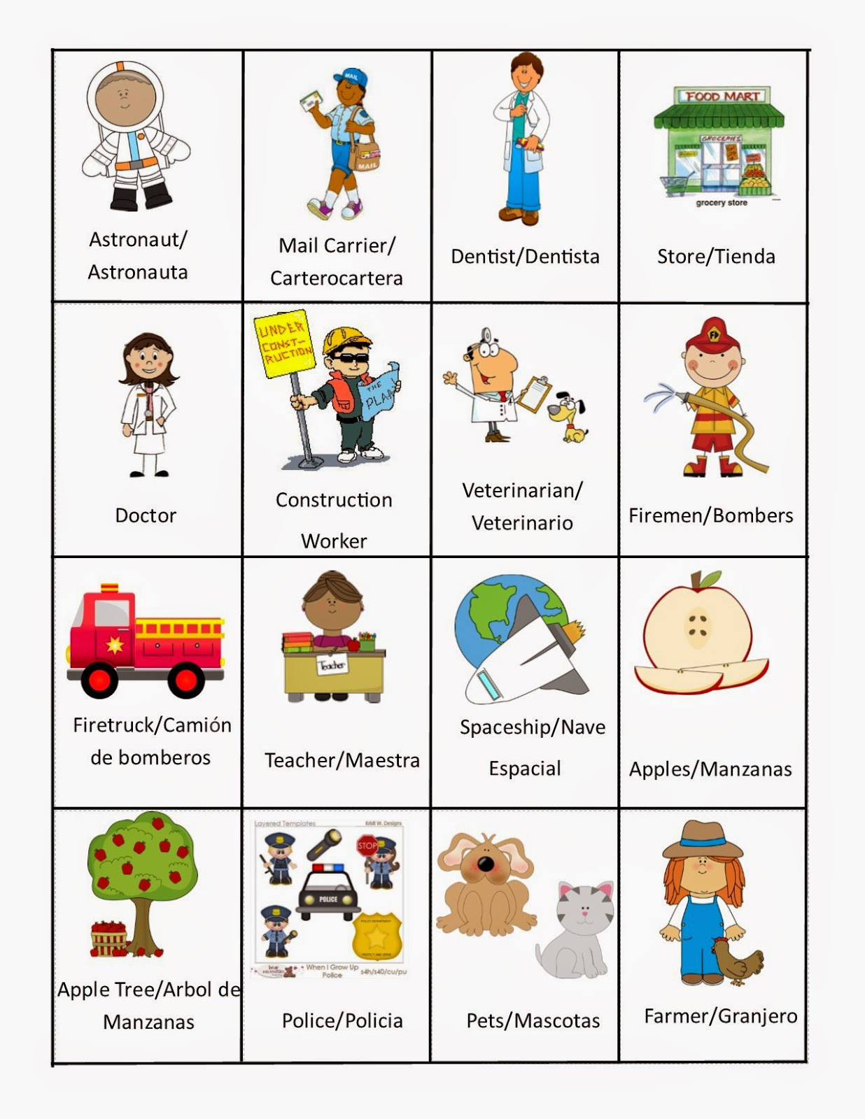 Speech Languagetherapysessions September Vocabulary Words
