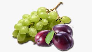 alimentación complementaria blog mimuselina baby led weaning introducción fruta bebé uva y ciruela