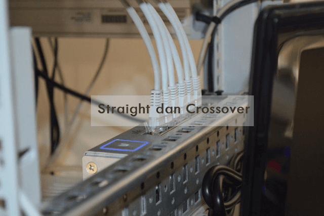 Susunan Warna Kabel Lan Straight dan Crossover