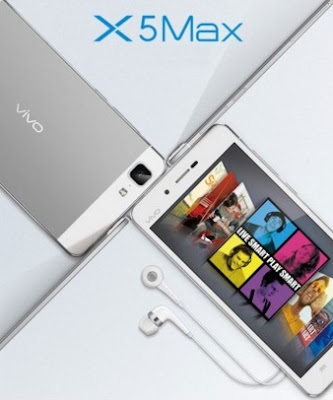 Harga HP Vivo X5 Max Tahun 2017 Lengkap Dengan Spesifikasi, Layar 5.5 Inchi, Kamera 13 MP, RAM 2 GB