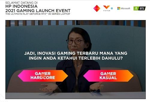 launching laptop gaming by hp