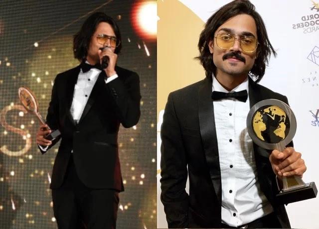 Bhuvan Bam win global entertainer award in 2019