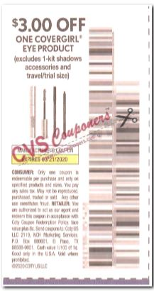 """$3.00/1 Covergirl Eye Coupon from """"SMARTSOURCE"""" insert week of 2/23 (Exp 3/21)."""