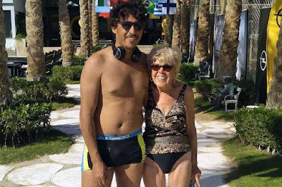 Egyptian toyboy, 35, who bedded gran, 80, 'doesn't care' she's older than his mum