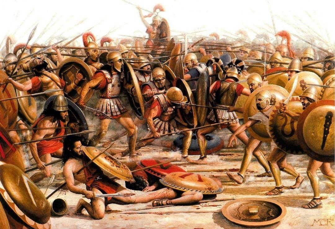 História da Batalha de Mantineia