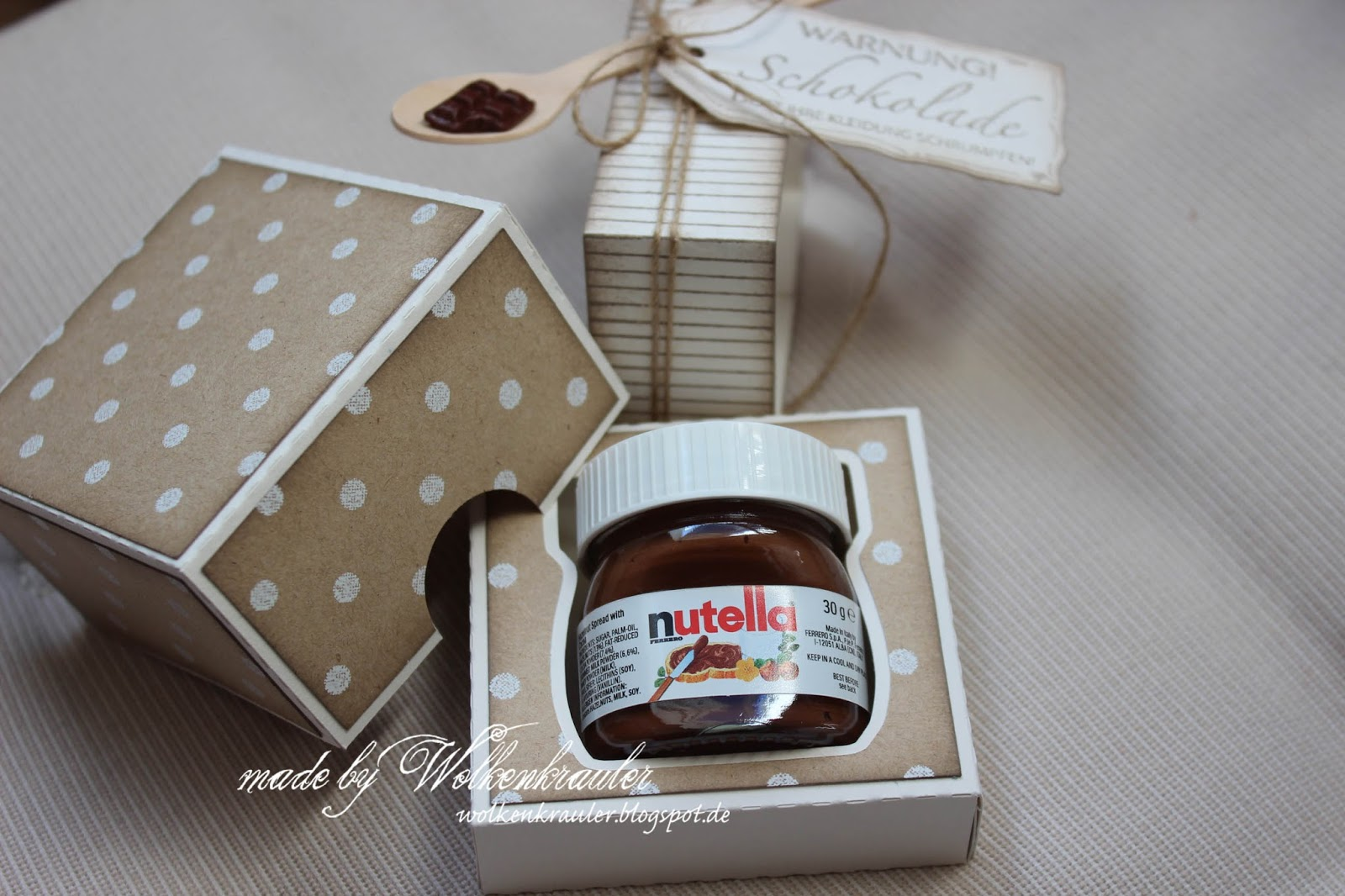 wolkenkrauler mini nutella verpackung. Black Bedroom Furniture Sets. Home Design Ideas
