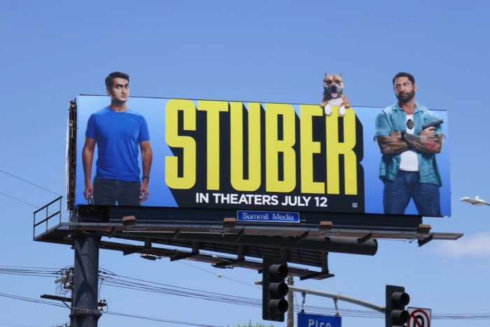 Stuber movie billboard
