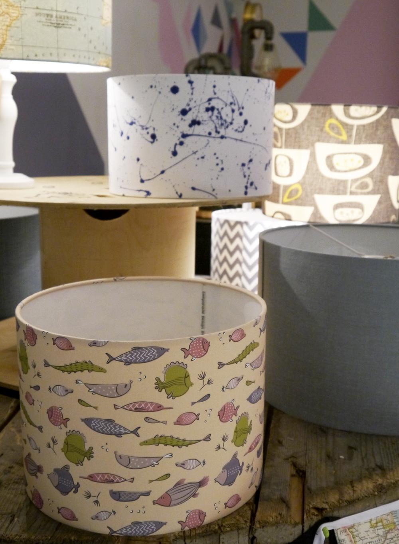 The Scottish Design Exchange, Edinburgh shopping, alternative shopping in Edinburgh, Ocean Terminal, fashion, Scottish fashion blogger, patterned lampshades