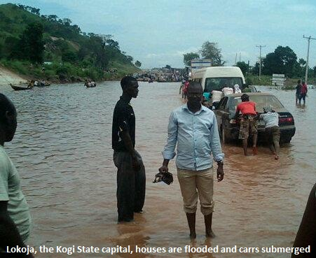 Lokoja Kogi State flood