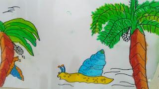 "Gambar Ilustrasi "" Siput Bukanlah Hewan Lemah """