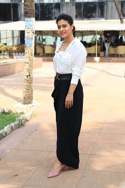 Kajol At Movie Promotions Novotel Hotel In Juhu Actress Trend