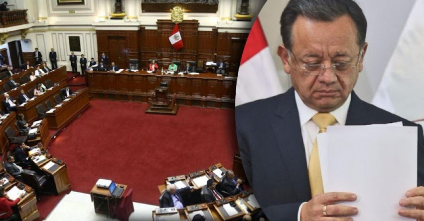 Congreso aprueba removerlo del cargo de contralor Edgar Alarcón por falta grave en el ejercicio de la función pública