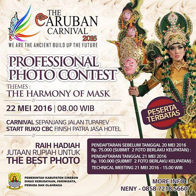 Kontes Foto The Caruban Cirebon Carnival The Imazine Of Mask 22 Mei 2016