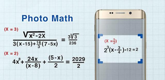 تنزيل Math Scanner By Photo -Solve My Math Problem  تطبيق حاسبة كاميرا للاندرويد