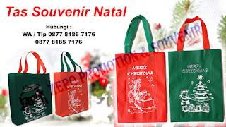 Souvenir Natal Tas Spunbond