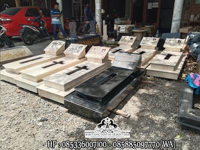 Desain Kuburan Kristen Minimalis, Makam Kristen Marmer, Model Kuburan Kristen Modern