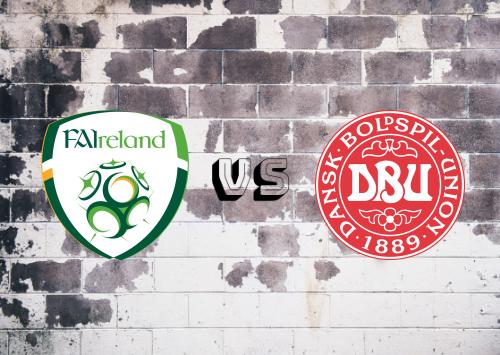 República de Irlanda vs Dinamarca  Resumen
