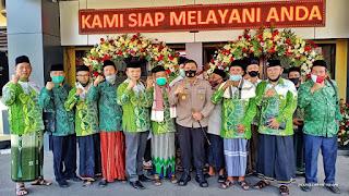 Silaturahmi Cabang Nahdatul Ulama Se Soloraya ke Polresta Surakarta