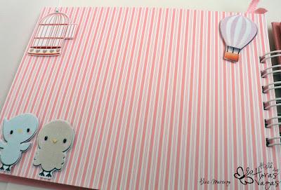 livro mensagens passarinho bird aniversário infantil