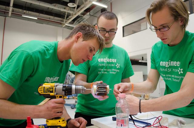 Beltrão Coelho apoia estudantes de engenharia em competição europeia