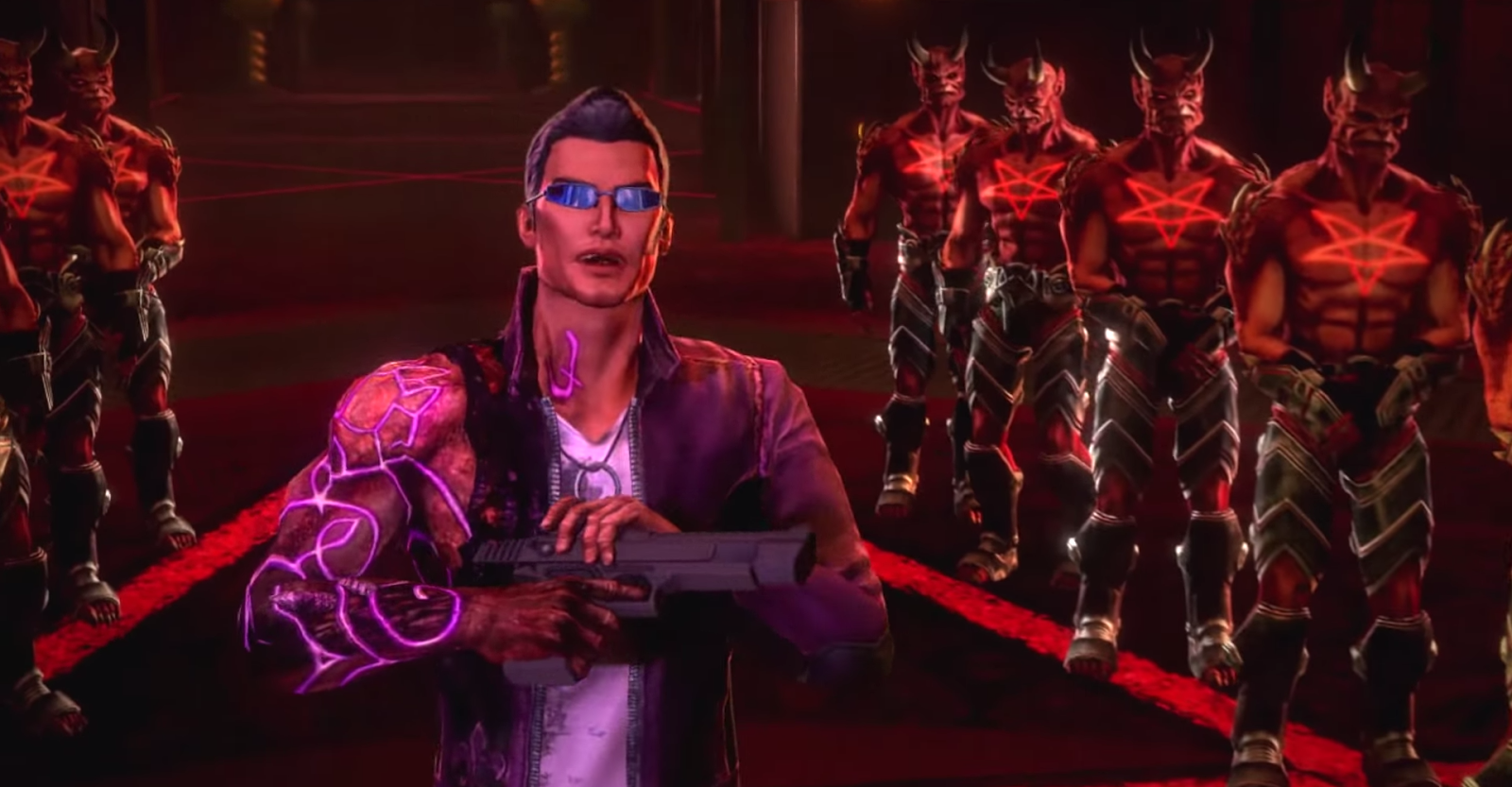 Free Download Saints Row Gat out of Hell Pc Game Full Version