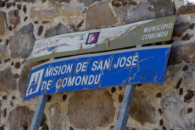 Sign saying Mision de San Jose de Comondu