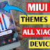 best miui 11 mi themes for mi and xiaomi android phones ( Classic v10 )