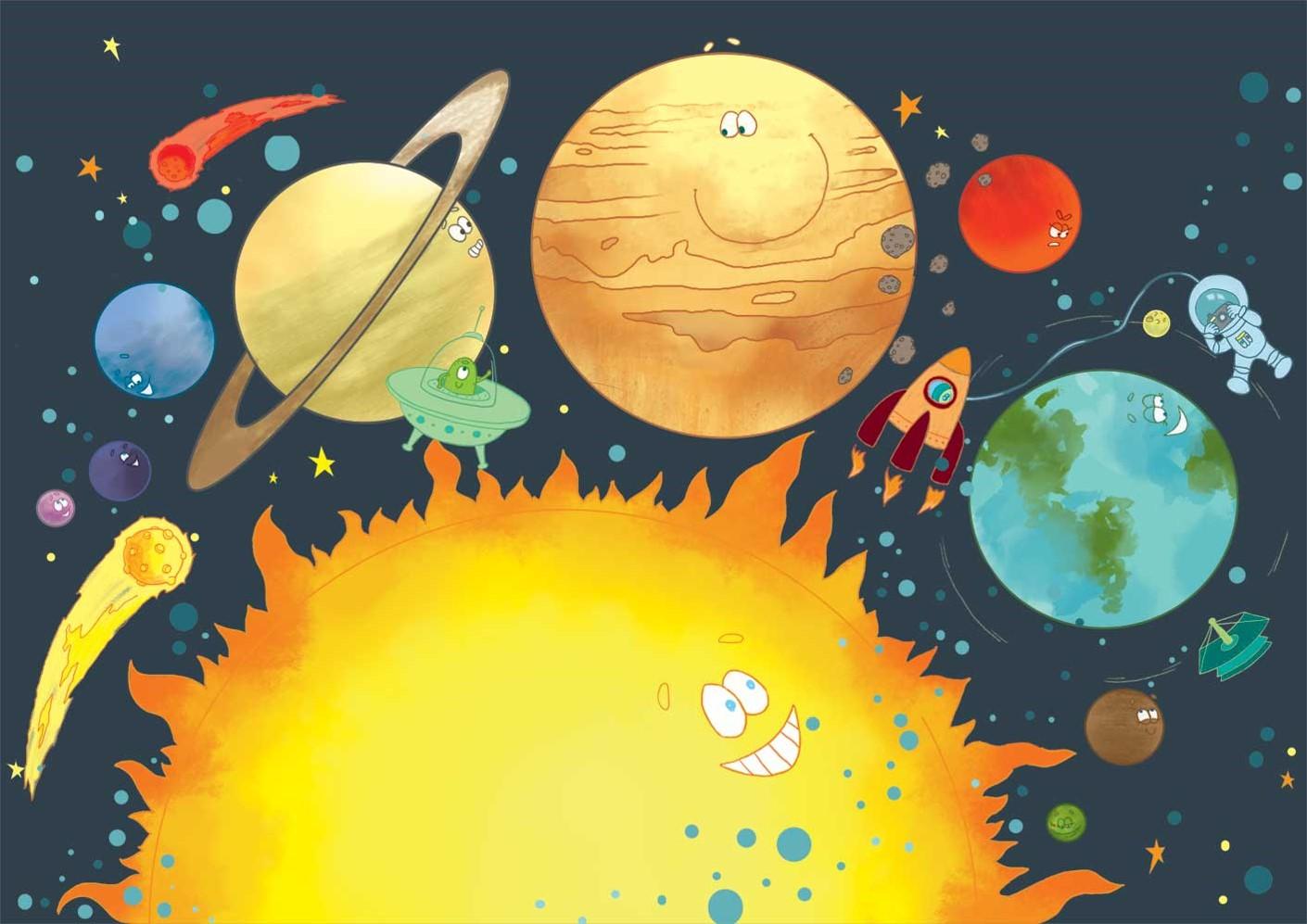 Інформація і МИ: роздуми, цікавинки, запитання і відповіді, задачі для  дітей і дорослих, новини...: Віртуальна подорож сюжетною картиною «Космос:  реальний та фантастичний»