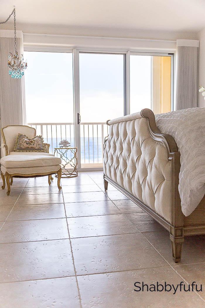 french country elegant beach house bedroom shabbyfufu