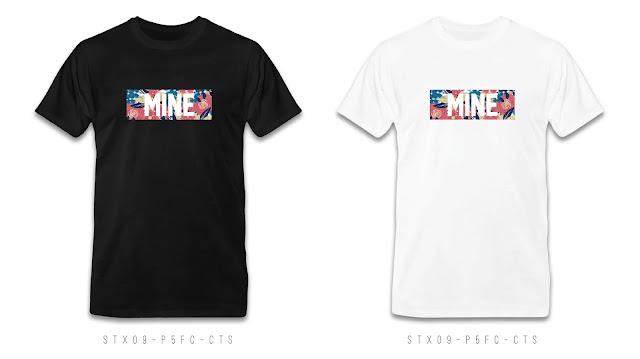 STX09-P5FC-CTS Text T Shirt Design, Custom T Shirt Printing