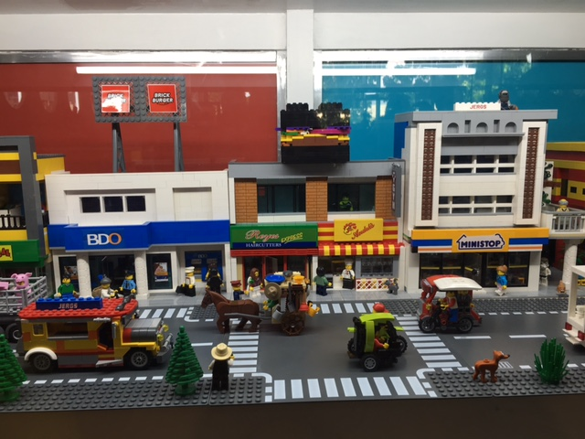 LEGO Kalesa and jeepney at Brick Burger Hampton Gardens