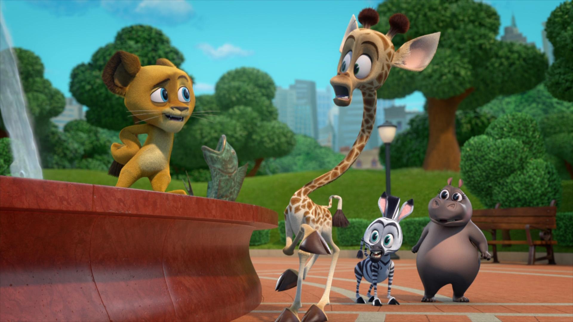Madagascar Algo Salvaje Temporada 1 (2020) 1080p WEB-DL Latino