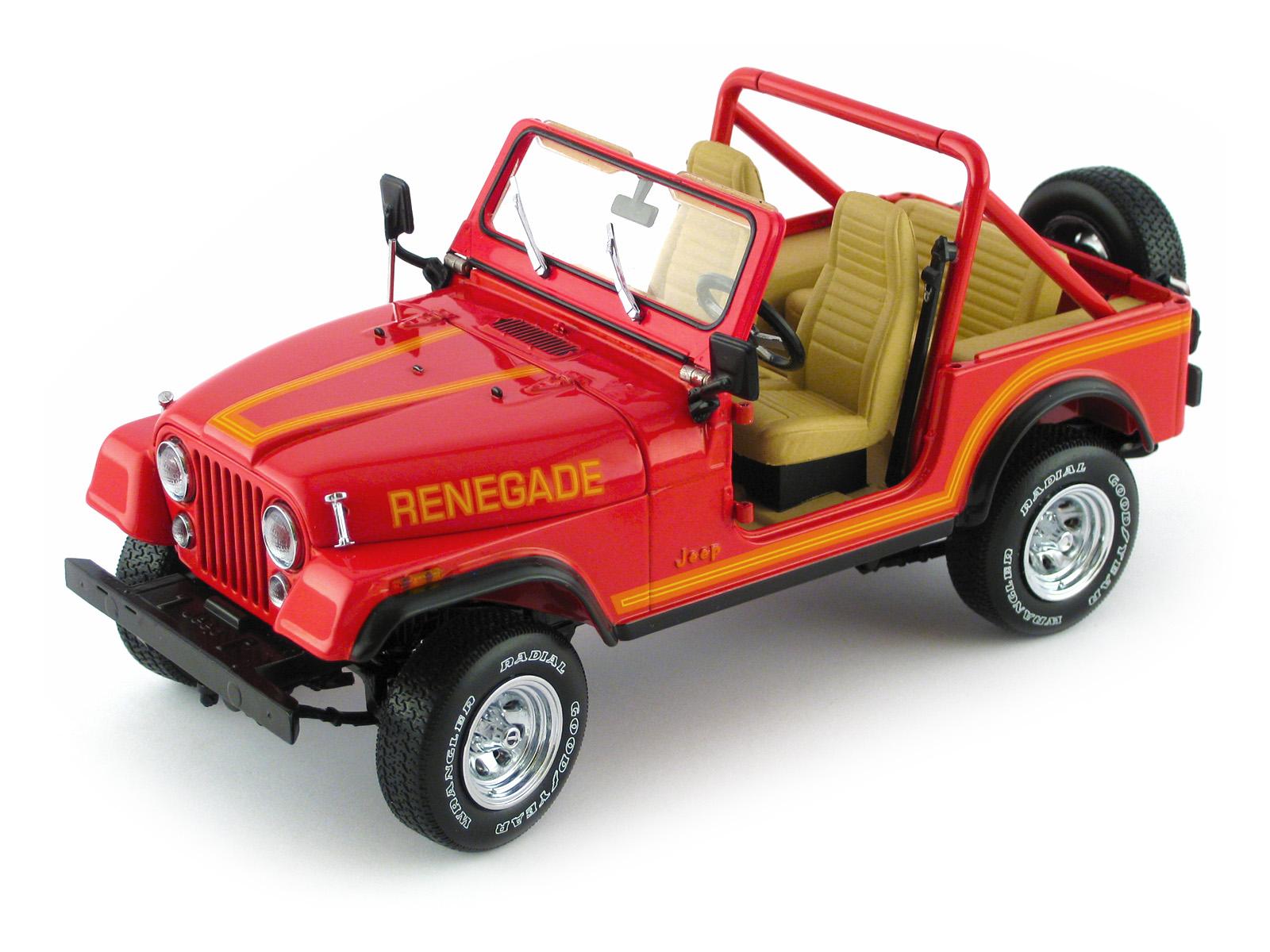 Jeep Renegade Pickup >> Franklin Mint 1986 Jeep CJ-7 Renegade